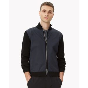 Theory tech zip cardigan